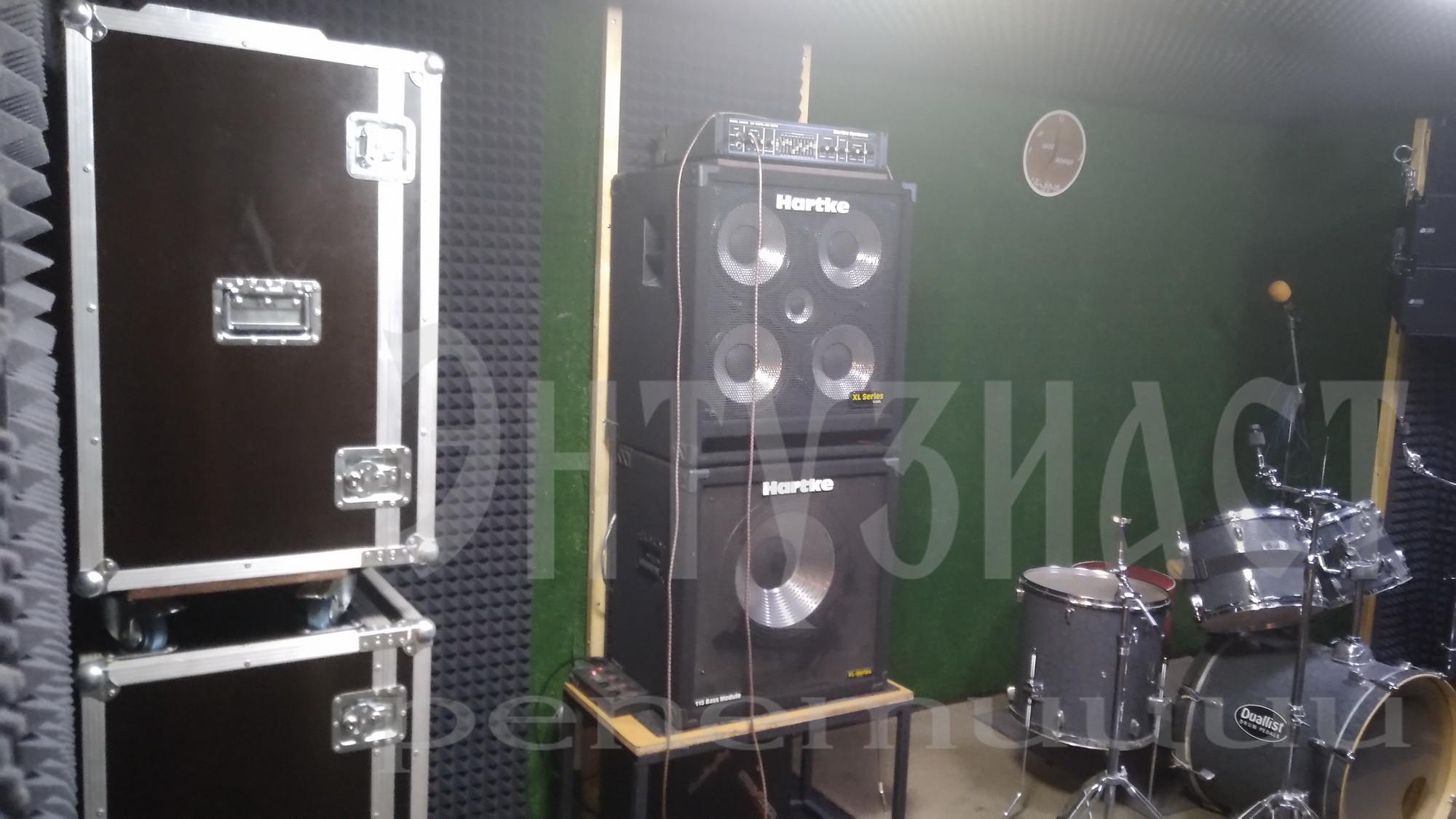 Репетиционная база Энтузиаст в Москве
